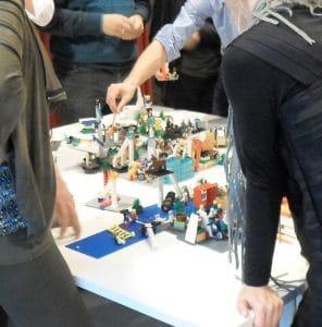 strategiesessie met Lego Serious Play